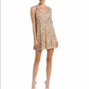 Free People embellished mini slip mini dress-NWT